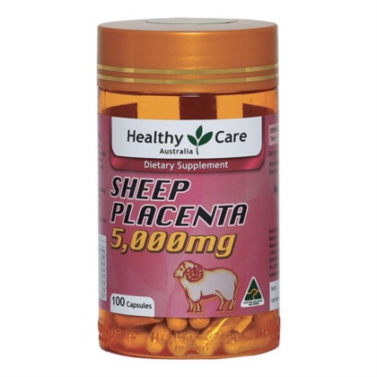 Nhau thai cừu - Healthy Care - Sheep Placenta 5000mg 100 viên